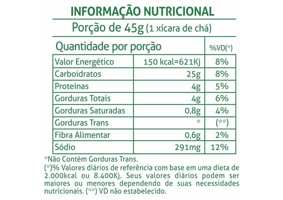 12 - Informação Nutricional Bolacha Trique