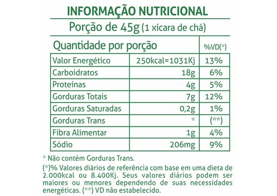 4 - Informação Nutricional Bolacha Croc