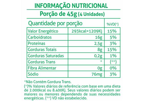 8 - Informação Nutricional Bolacha Vitapop